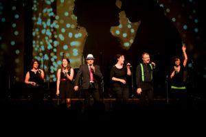 """Total Vocal mit der Interpretation von Michael Bublee's Hit Sway - zu Mundart """"Fühl di frei"""""""